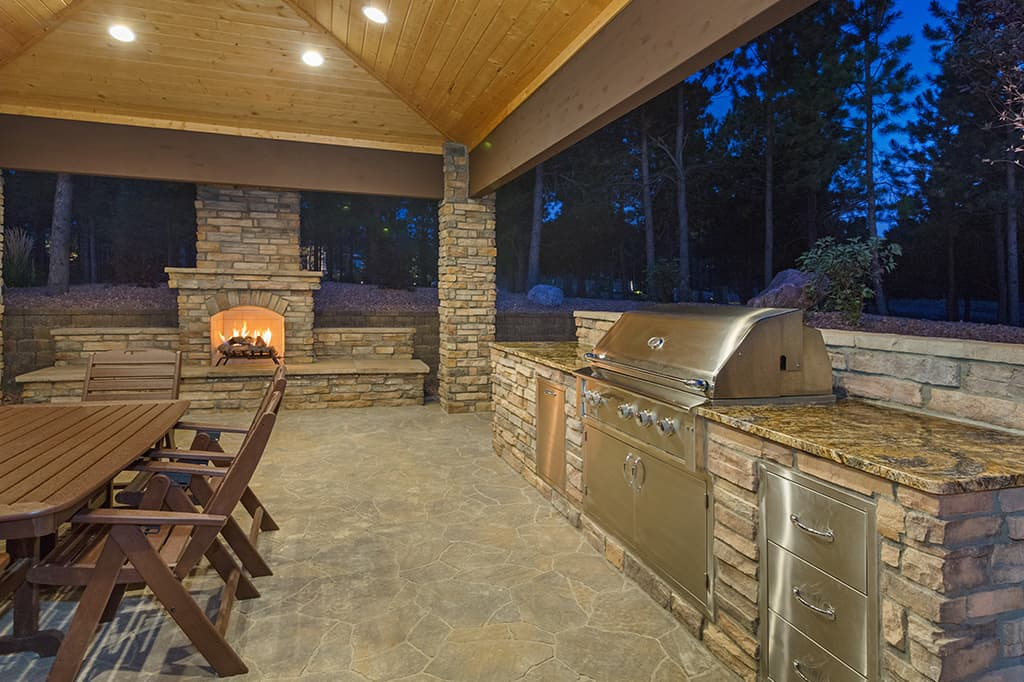 Astounding Outdoor Kitchens Fireplaces Fred Adams Paving Download Free Architecture Designs Scobabritishbridgeorg