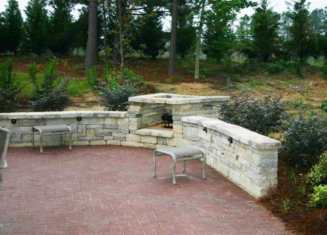 Residential Portfolio : fuquay-varina-paver-patio-2